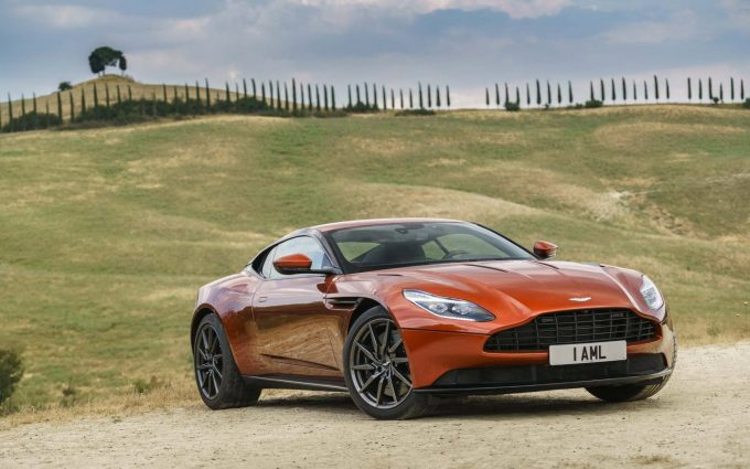 2017 aston martin db11 wallpaper background