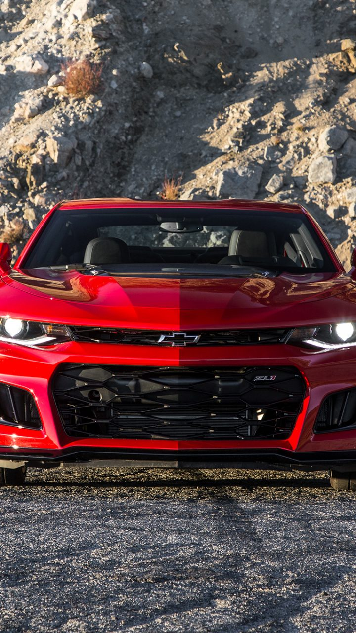 2017 Chevrolet Camaro ZL1 Red Wallpaper | HD Wallpaper ...