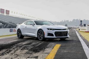 2017 Chevrolet Camaro ZL1 White Wallpaper