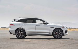 2017 Jaguar F Pace White Wallpaper
