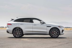 2017 jaguar f pace white wallpaper background