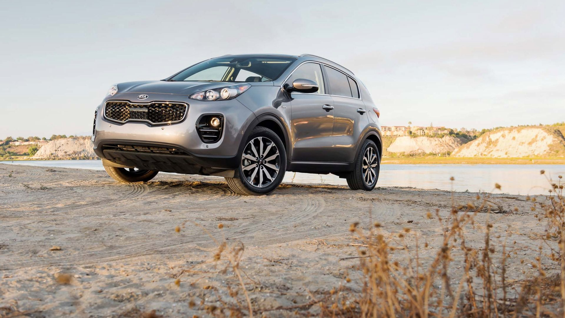 2017 kia sportage ex wallpaper background