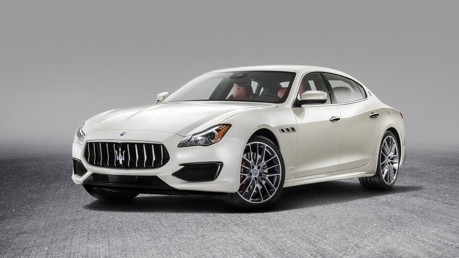 2017 maserati quattroporte granlusso wallpaper background