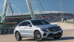 2017 Mercedes Benz GLC300 Coupe Wallpaper