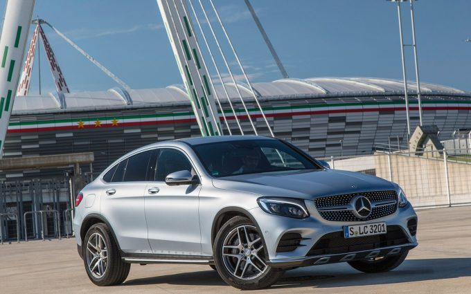 2017 mercedes benz glc300 coupe wallpaper background