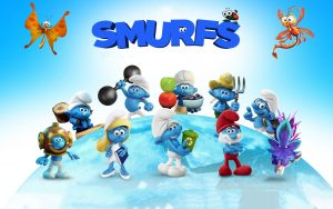 2017 Smurfs The Lost Village Wallpaper
