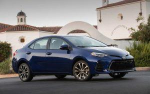 2017 Toyota Corolla Blue Wallpaper