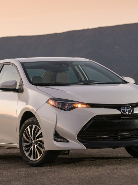 2017 Toyota Corolla White Wallpaper Hd Wallpaper Background