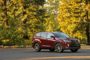2017 toyota highlander red wallpaper background