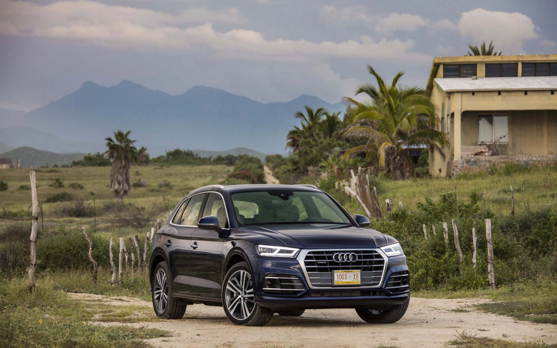 2018 audi q5 wallpaper background