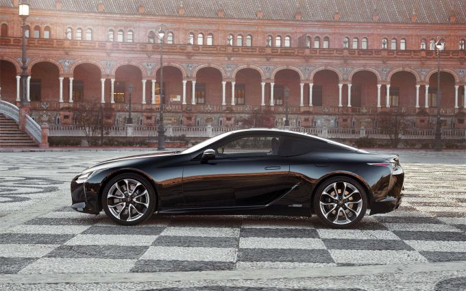 2018 lexus lc 500h wallpaper background