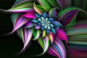 3d flower wallpaper background