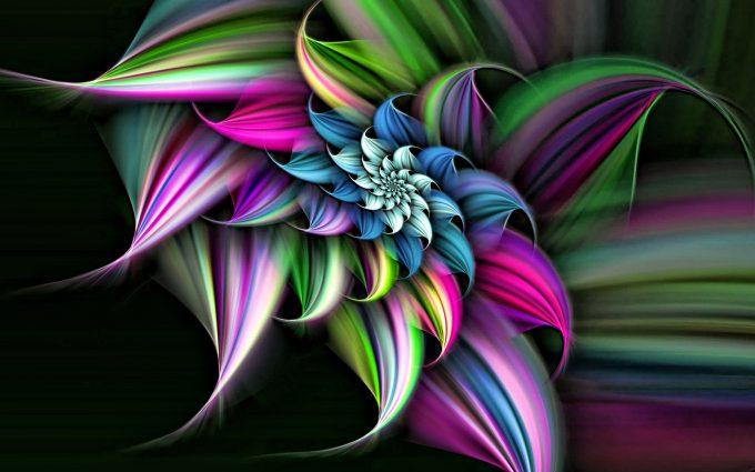 3d flower wallpaper background