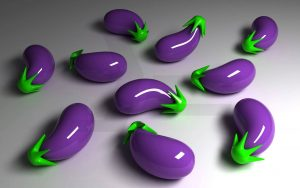 3D Vegetables Wallpaper