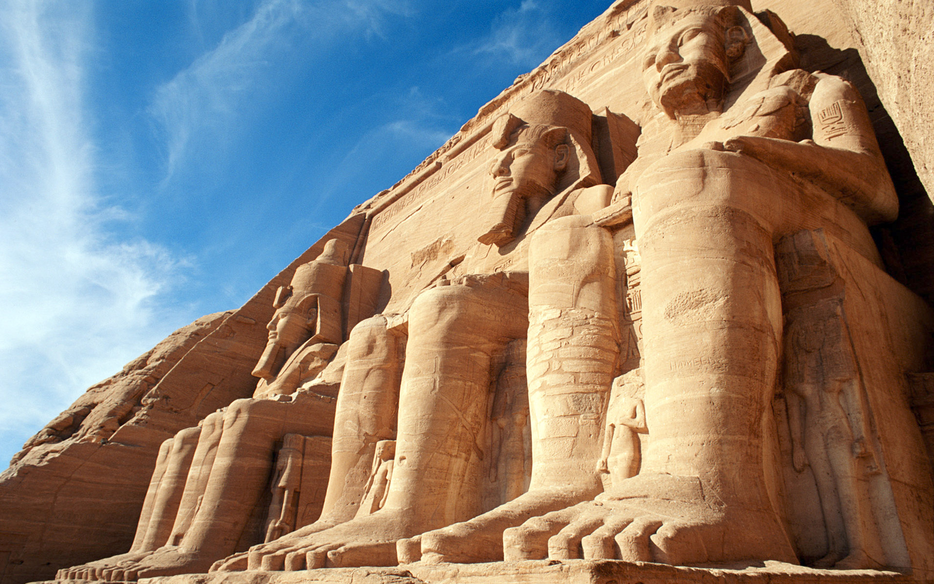abu simbel wallpaper background
