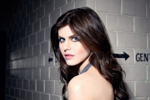 Alexandra Daddario Eyes 4K Wallpaper