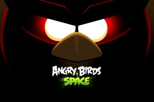 angry birds space game wallpaper background