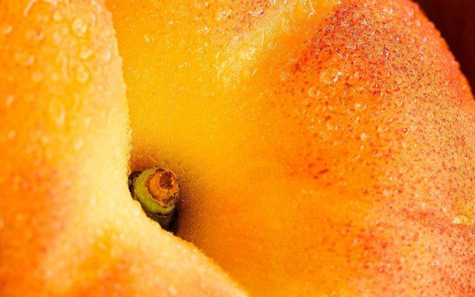 apple macro wallpaper