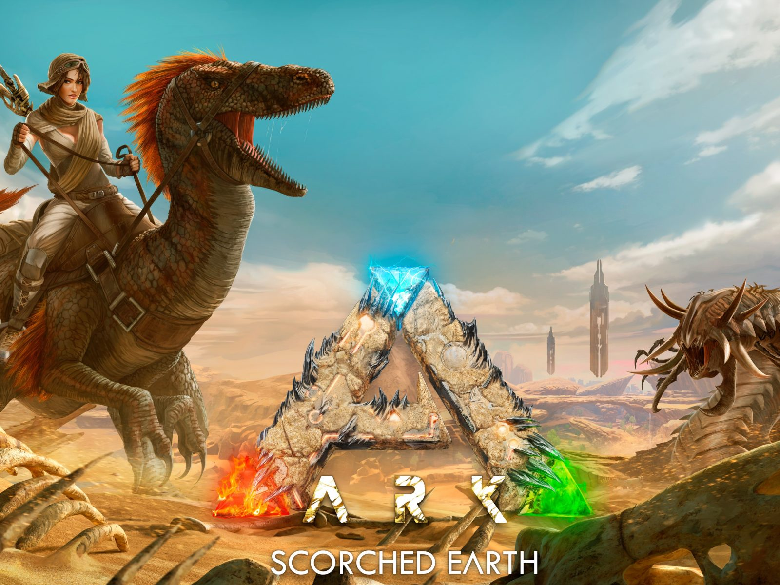 Ark Scorched Earth 4k Wallpaper Hd Wallpaper Background