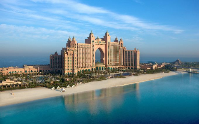 atlantis the palm wallpaper background