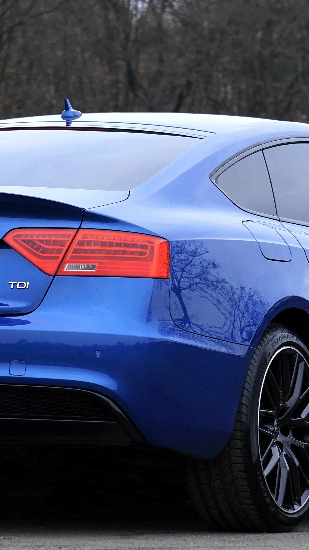 Audi A5 Blue Wallpaper 4k 5k Hd Wallpaper Background