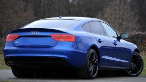 Audi A5 Blue Wallpaper 4K 5K