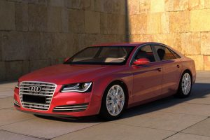 audi a8 red wallpaper background