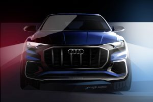 audi q8 concept wallpaper background