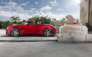 Audi TT Red Wallpaper