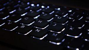 Backlit Keyboard Wallpaper 4K
