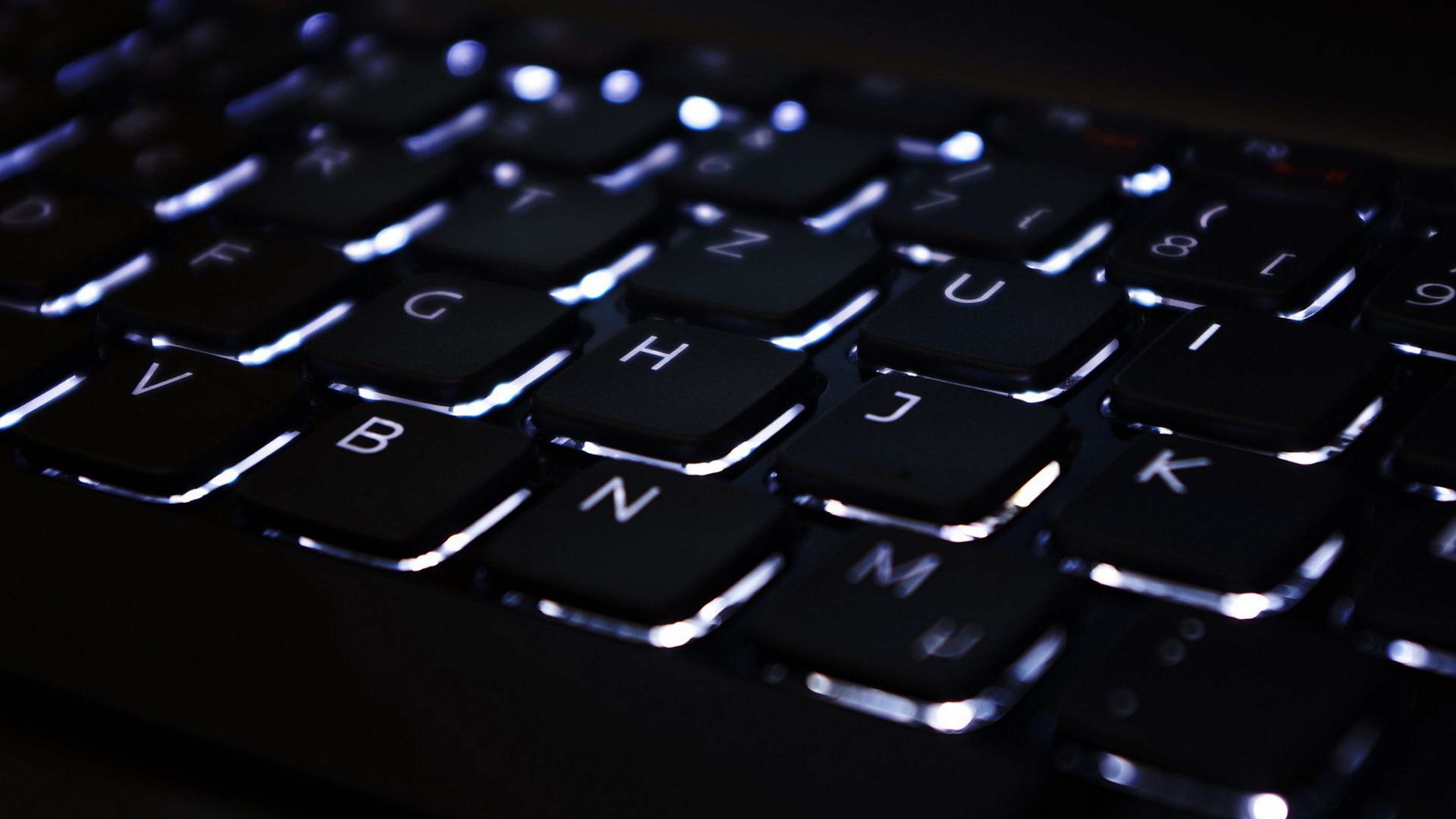 backlit keyboard wallpaper 4k background