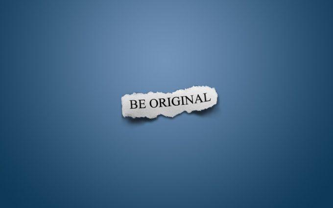 be original wallpaper