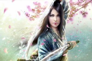 Beautiful 3D Girl Wallpaper Background