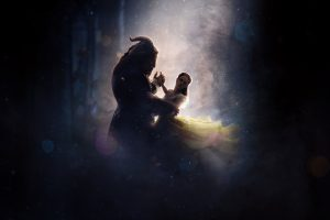 Beauty and The Beast 4K 8K Wallpaper