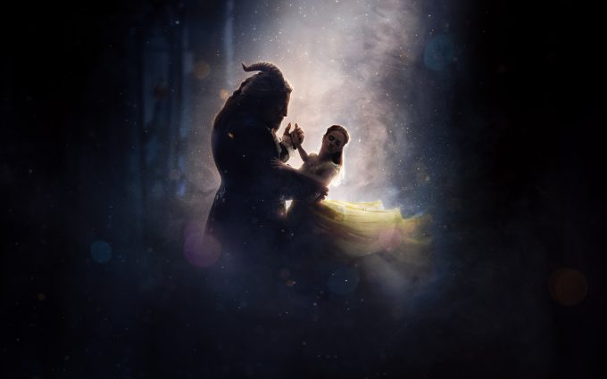beauty and the beast 4k 8k wallpaper background