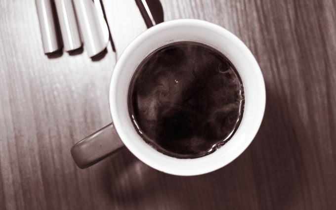 black coffee wallpaper background