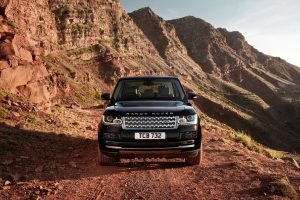 black range rover wallpaper background