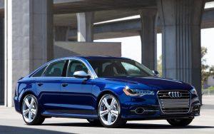Blue Audi Car Wallpaper