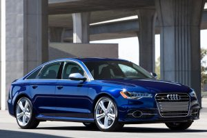 Blue Audi Car Wallpaper Background