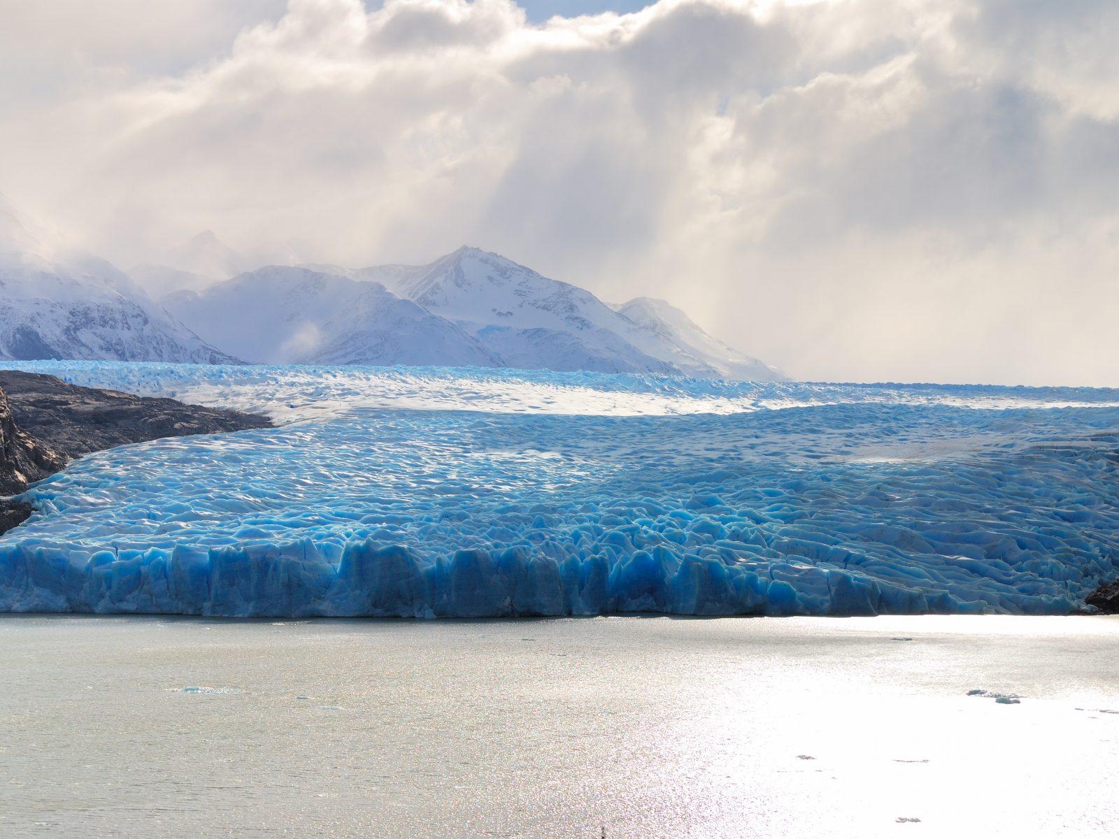 Blue Glacier Wallpaper 4k Hd Wallpaper Background