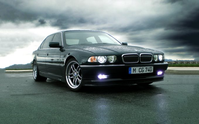 bmw 7 series wallpaper background