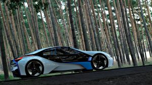BMW Vision Efficient Dynamics 4K Wallpaper