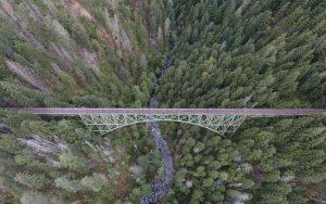 Bridge Aerial View Wallpaper