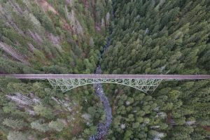 bridge aerial view wallpaper background