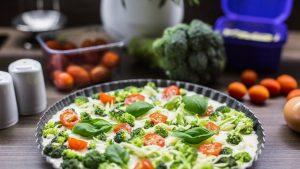 Broccoli Pie Wallpaper Background