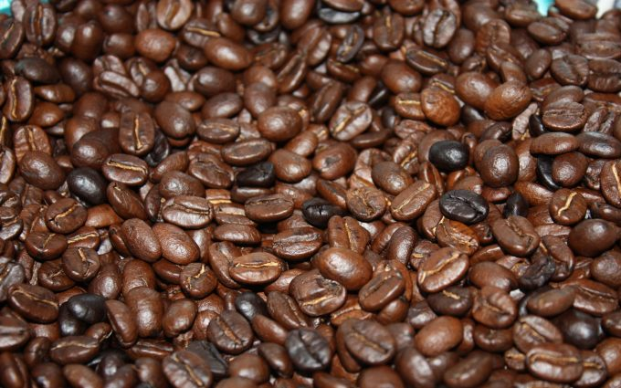 brown coffee beans wallpaper background, wallpapers