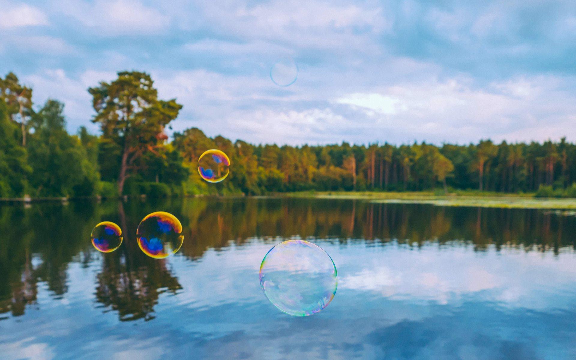 bubbles wallpaper background