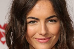 camilla belle smile wallpaper