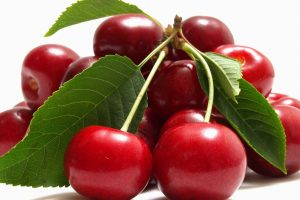 Cherries Macro Wallpaper