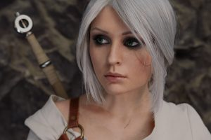 Ciri Witcher 3 4K Wallpaper